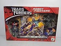 トランスフォーマー ロボットファイターズ オプティマスプライム VS メガトロン ROBOT FIGHTERS OPTIMUS PRIME VS MEGATRON
