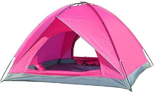 Jiu Bu Double étage, étanche à La Pluie, étanche, 3-4 Personnes, en Plein Air, Tente De Camping, Adapté pour Le Camping, La Randonnée, La Pêche