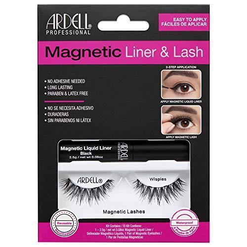 Ardell Magnetic Liquid Liner & Lash - Wimpern mit flüssigem magnetischem Eyeliner (Wispies)