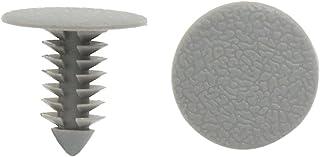 Sourcingmap® 100stk Kunststoff Trimm Clips Stoßfänger Tür Nieten Befestiger Grau 8mm für Auto DE de