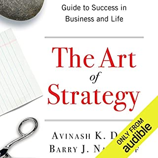 The Art of Strategy     A Game Theorist's Guide to Success in Business and Life              Autor:                                                                                                                                 Barry J. Nalebuff,                                                                                        Avinash K. Dixit                               Sprecher:                                                                                                                                 Matthew Dudley                      Spieldauer: 17 Std. und 2 Min.     4 Bewertungen     Gesamt 3,8