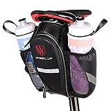 WATERFLY Bike Saddle Bag Waterproof Bike Seat Bag Pouch Water Bottle Holder Mountain Road Bike