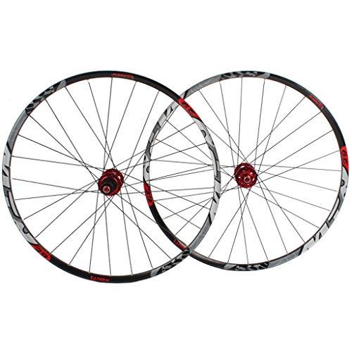 Berg Fietsloopwielenset, 29 inch dubbelwandig, MTB-rand, snelle opening, schijfrem hybride fiets gatschijf 7 8 9 10 snelheid