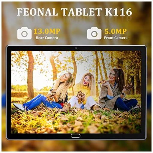 FEONAL Tablet 10 Pulgadas Android 10 4G LTE +WiFi, 4GB RAM+64GB ROM (TF 128GB), Octa-Core, Batería 6000mAh, Tableta con… 5