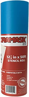 Oracal ORAMASK 813 Stencil Film 12.125 Inches x 50 Foot Roll for cricut, silhouette, cameo, craft cutters