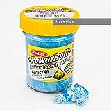 BerkleyPowerbait Natural Scent Trout Bait Glitter Garlic Neon Blue