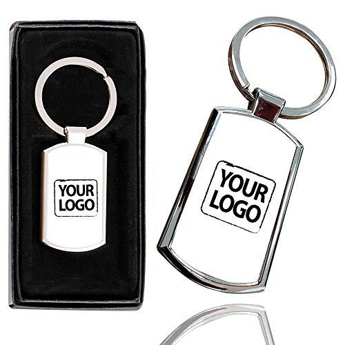 i-Tronixs Schlüsselanhänger, personalisierbarer Fototext, Cooles Design, erstellen Sie Ihre eigenen Bilder mit jedem Logo, stilvoller Schlüsselanhänger-Box