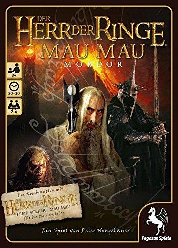 Pegasus Spiele 18122G - Herr der Ringe MauMau, Mordor