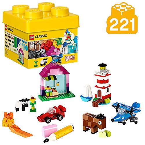 LEGO Classic - Ladrillos Creativos, Imaginativo Juguete de Construcción con Bricks de...