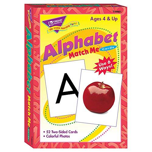 Cartes Flash Alphabet Match Me