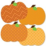 Big Dot of Happiness Pumpkin Patch - Pumpkin Decorations DIY Fall, Halloween or Thanksgiving Party Essentials - Set of 20