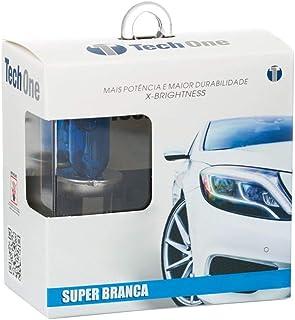 Lampada Super Branca Techone H7 55W 8500K com Inmetro