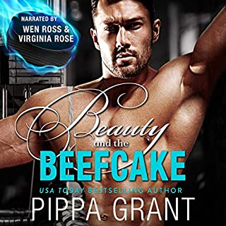 Beauty and the Beefcake audiobook cover art