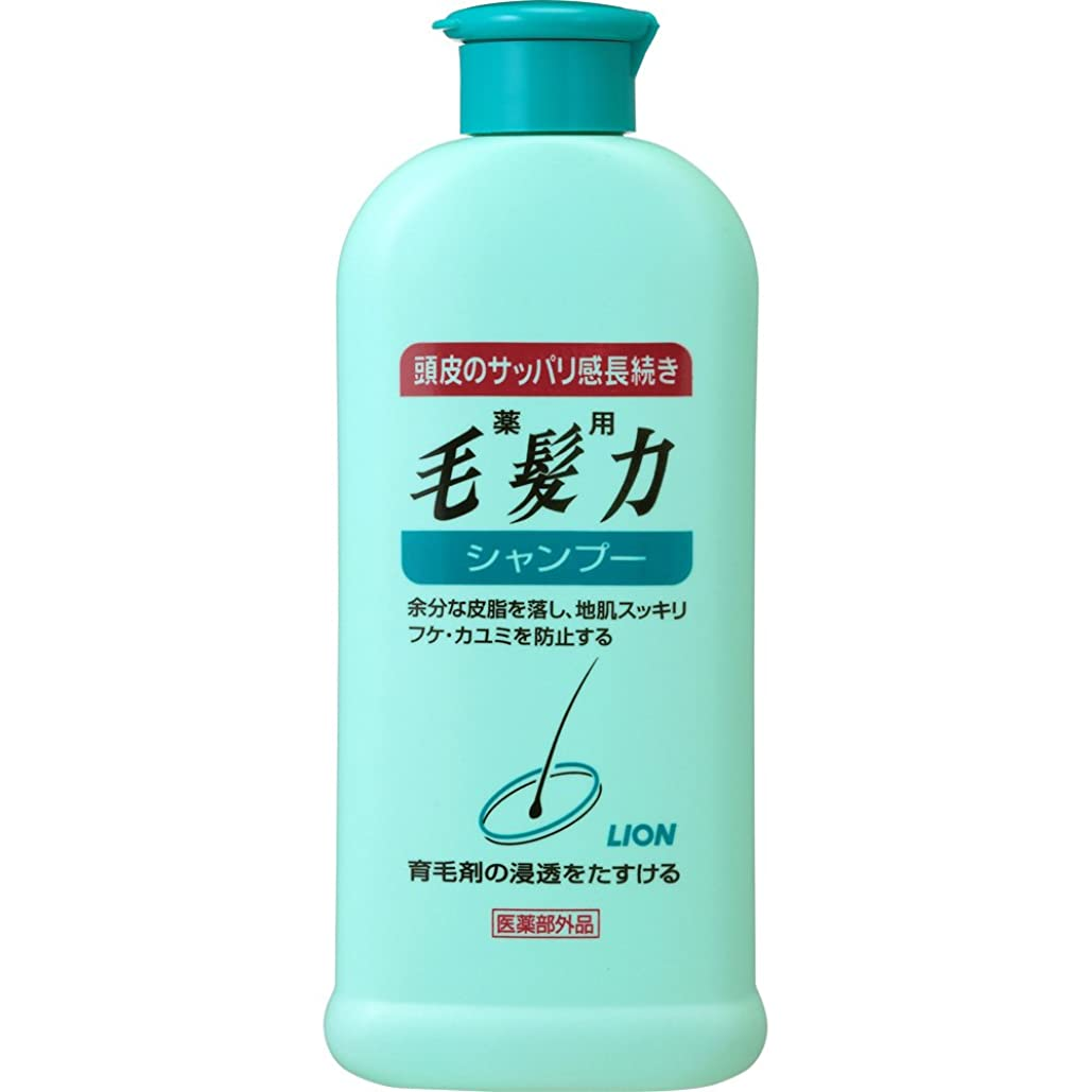敏感な使役責め薬用毛髪力 シャンプー 200ml(医薬部外品)