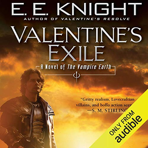 Valentine's Exile audiobook cover art