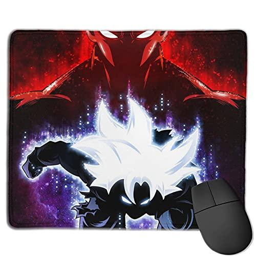 Alfombrilla de ratón para videojuegos Goku Master Ultra Instinct Vs Jiren Alfombrilla de ratón de ordenador de 25 x 30 cm