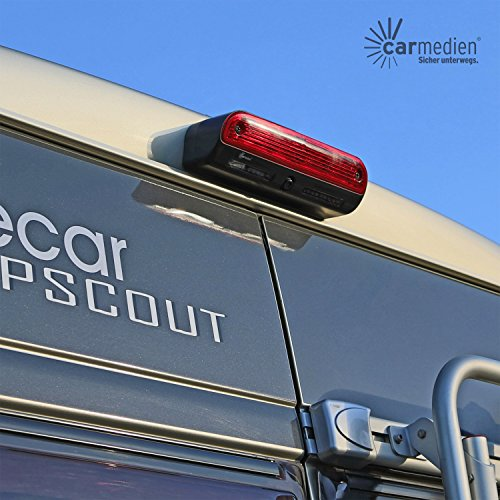 Rückfahrkamera für FIAT Ducato Peugeot Boxer Citroen Jumper Kamera integriert in 3. Bremslicht dritte Bremsleuchte
