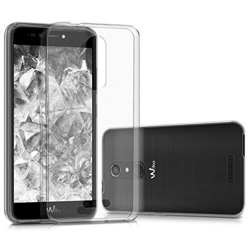 kwmobile Coque Compatible avec Wiko Upulse Lite - Housse Protectrice pour Téléphone en Silicone Transparent
