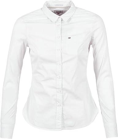 Tommy Hilfiger Original Stretch Camisa para Mujer
