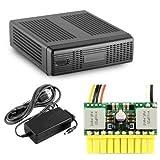 MINI-BOX M350 Universal Mini-ITX Enclosure w PICOPSU-80 80W Power Supply and 60W Adapter Kit (Black) / CS-MINI35P /