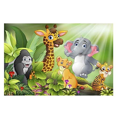 Fama Fabre Peignoir pour enfant Hygiénique Animaux 80 x 120 150 g