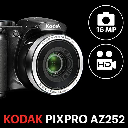 Kodak PIXPRO AZ252 Bridge camera 16MP 1/2.3 CCD