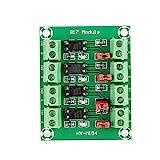 NITRIP Modulo Adattatore convertitore di Tensione Scheda Isolato optoisolatore ABS 817 a 4 canali