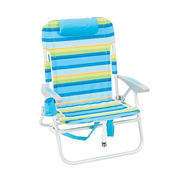 Rio Beach Big Boy Folding 13″ High Seat Backpack Beach Or Camping Chair