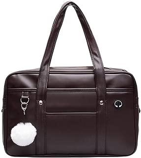 Japanese handbag School Bag PU Leather duffle Japan High School anime Cosplay student Uniform laptop bag