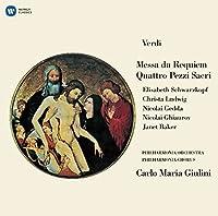 VERDI: MESSA DA REQUIEM/QUATTRO PEZZI SACRI(2SACD HYBRID)(reissue) by Carlo Maria Giulini / Philharmonia Orchestra (2016-02-17)