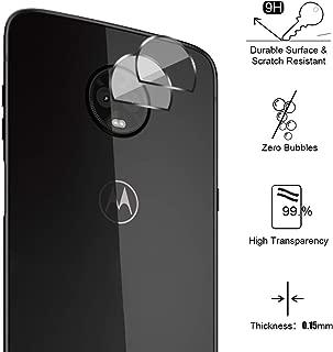 Alta Definicion - Cobertura Completa 9H Dureza Protector de Pantalla para Huawei P8 Lite 2017,Cristal Vidrio Templado - MUXItrade Negro Sin Burbujas 2 Unidades