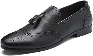 [Donahutt03] タッセル付き ドライビングシューズ メンズ ドライビング デッキシューズ シューズ ローファー スリッポン モカシン おしゃれ 運転靴 ローカット 黒 スリッポンシューズ 大きいサイズ 紳士靴 父の日 男性