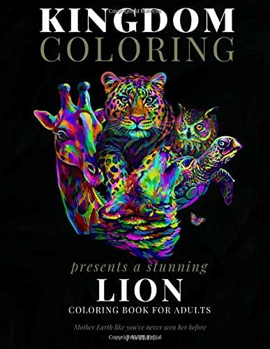A LION COLORING BOOK FOR ADULTS A Stunning Collection of Lion Coloring Patterns Perfect for product image