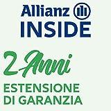 Allianz Inside, Il Valore della Copertura assicurativa Estensione di Garanzia con validità di Due Anni per Attrezzature Sportive è compreso tra 300,00 € e 349,99 €