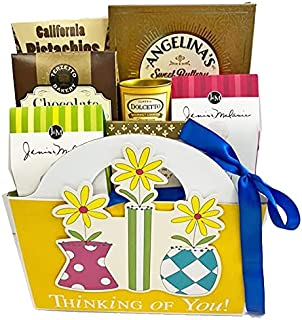 Sympathy Gift Basket for Loss of Mother, Loss of Father, Loss of Loved One Gourmet Bereavement Gift Basket (Sympathy Gift ...