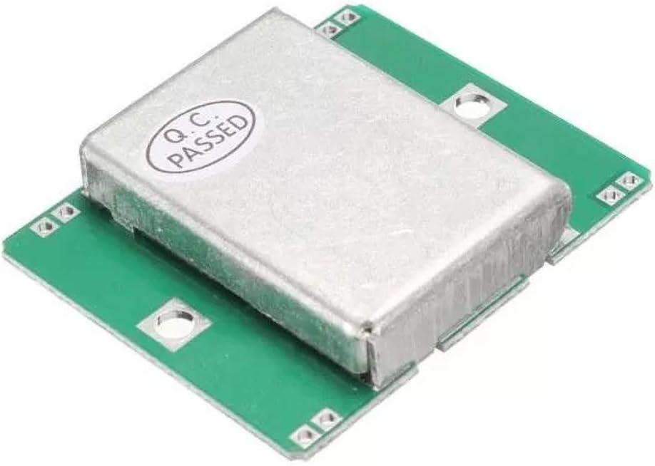 KEPUSHIYE Componentes electrónicos HB100 del módulo del Sensor de Radar Doppler 10.525GHz Detector de Movimiento 40 mA