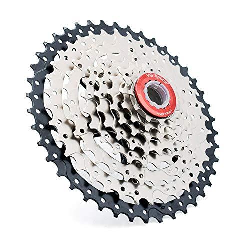Schraubkranz 8-Fach Fahrradkassette,8 Speed Cassette Kit Freilauf Schraubkranz (11-42 Zähne) für Mountainbike Road Fahrradzubehör