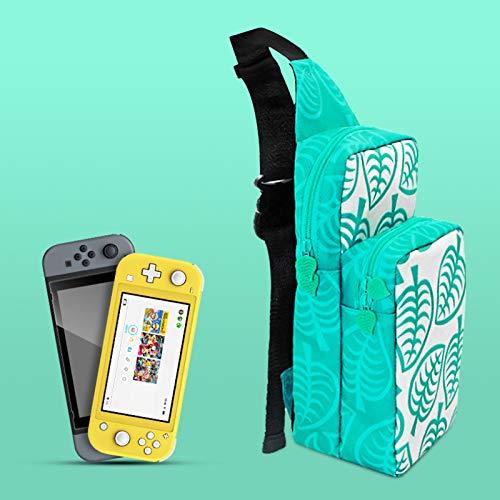 Tasche für Nintendo Switch, Backpack Crossbody Reisetasche für die Nintendo Switch-Konsole, Joy-Cons, Dock und Zubehör, Rucksack Tragbare Reisetasche Tasche für Nintendo Switch