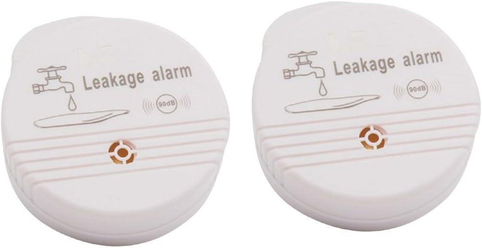 gazechimp PACK 2 Pieces Practical online shopping Wate Water Alarm 120db Leakage Great interest