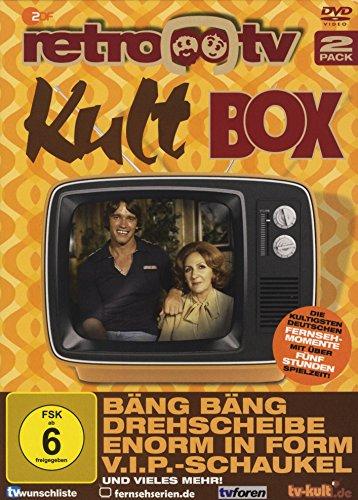 """retro-tv Kult Box (u.a. mit einer Folge """"drehscheibe"""") (2 DVDs)"""