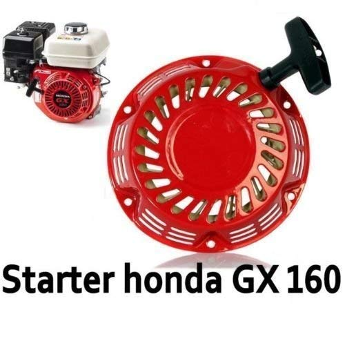 Trekstarter trekstarter stroomgenerator geschikt voor bijv. Honda GX120, GX140, GX160, GX200.
