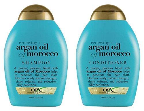 OGX - Champú & Acondicionador Aceite de Argán Marroquí, 385 ml