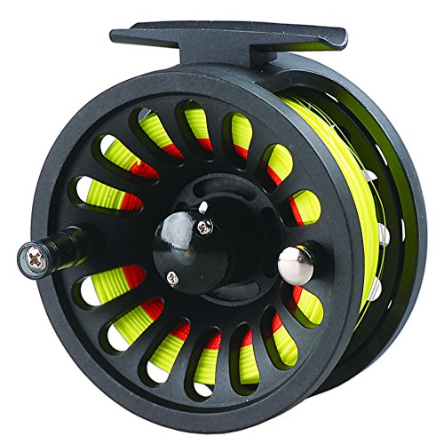 LUREMASTER Pre-Loaded 5/6 WT Fly Fishing Reel with Weight Forward