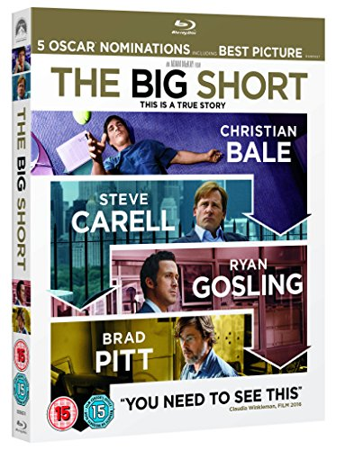 The Big Short [Blu-ray] [2015] [Region Free]