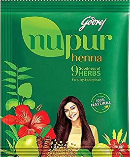 Nupur Henna - Goodness of 9 Herbs - 1000 Grams