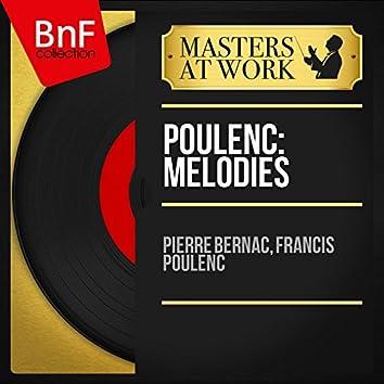 Poulenc: Mélodies (Mono Version)