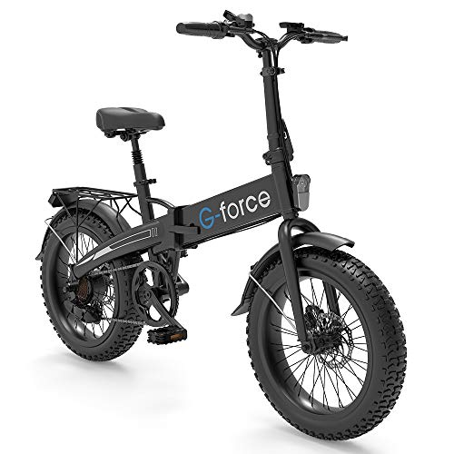 G-Force Foldable 20-inch 4.0 Fat tire Electric Bike