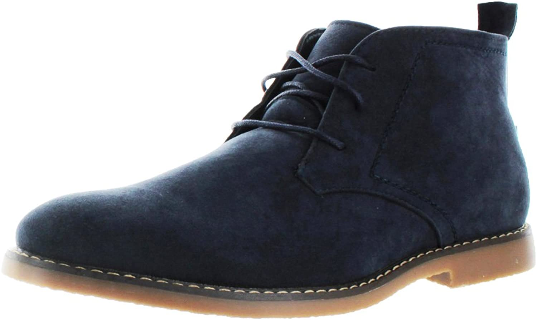 Moda Essentials Men's Desert Chukka Boots Vegan Suede