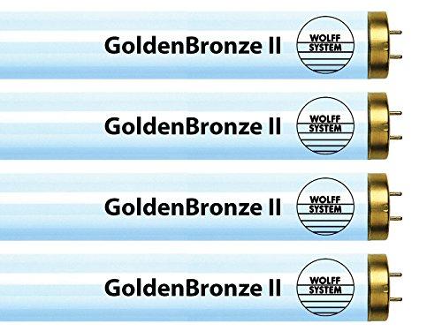 Wolff System GoldenBronze II F71T12 100W Bipin Tanning Bulbs - Intense Bronze (24)