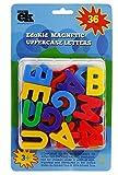 EduKid Toys 36 MAGNETIC UPPERCASE ALPHABET LETTERS (Blister Card)